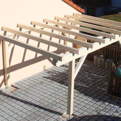 Carport Bau