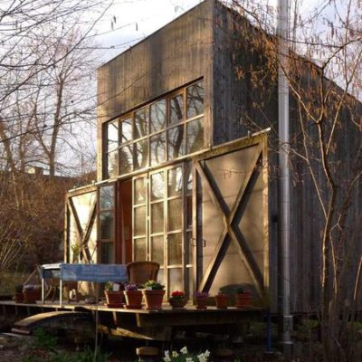 Holzhaus aussen