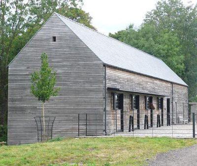 Pferdestall in England